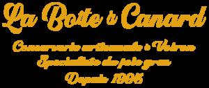 Logo du pied-de-page du site de La Boite à Canard